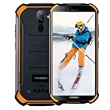 DOOGEE S40 Rugged Smartphone in Offerta 4G IP68/IP69K Impermeabile 3GB + 32GB Cellulare Militare Android 9,0 Dual SIM 5,5'' (Gorilla Glass 4) 4650 mAh 8MP+5MP + 5MP, NFC Impronta Digitale Faccia ID