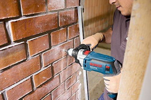 Bosch Professional GSB 16 RE Schlagbohrmaschine + Schnellspannbohrfutter 13 mm + Tiefenanschlag 210 mm + Zusatzhandgriff + Koffer (750 W) - 3