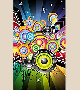 Music Graffiti 3D Hard Polycarbonate Designer Back Case Cover for Apple iPhone 6