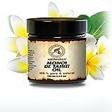 Olio di Monoi di Tahiti, 100% naturale e puro 100 ml, bottiglia di vetro, olio di base, ricco di retinolo, olio per il corpo, cura intensiva per viso, corpo, capelli, pelle, mani, anti-invecchiamento, uso puro, ottimo con olio essenziale / per bellezza / aromaterapia / relax / massaggi / benessere / cosmetici / cura del corpo / relax / Idratante / Cura della pelle / non diluito / olio per capelli / ingredienti di qualità / inodore / medicina alternativa di AROMATIKA