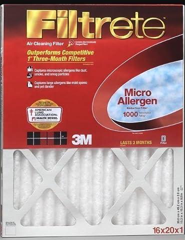 23.5x23.5x1 3M Filtrete Micro Allergen Filter (1-Pack)