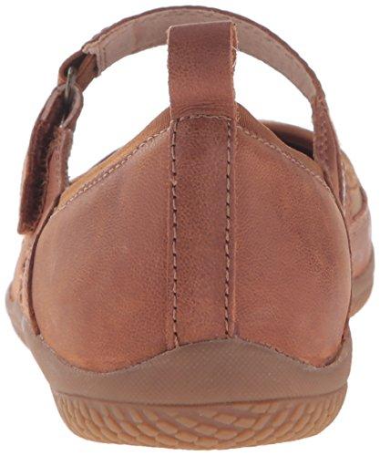 Softwalk Haddley Femmes Large Daim Mary Janes Luggage