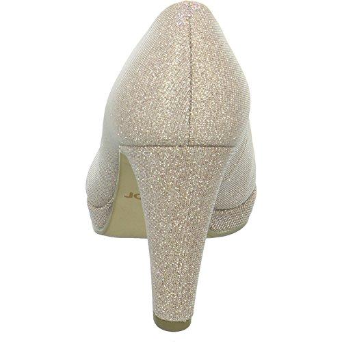 Gabor Fashion, Scarpe con Tacco Donna rosato