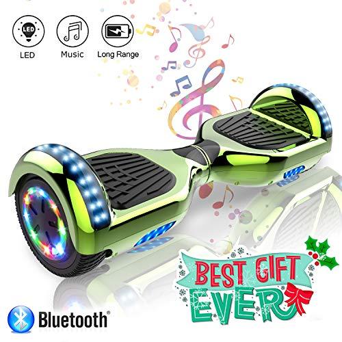 Hoverboard elettrico APP scooter a 6.5 pollici con Bluetooth & LED Auto Balance E-Skatebo