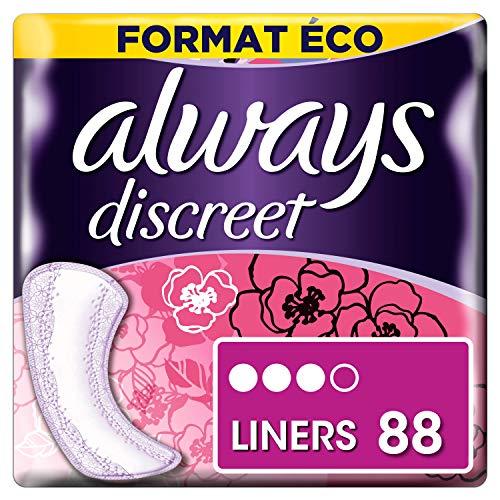 Always Discreet - Protectores fugas urinarias normales