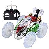 RC Autos Ferngesteuertes Elektrisches spielzeugs,Remote Control Autos mit leistungsstarken LED,360 Flip Stunt-Auto Gut für Kinder