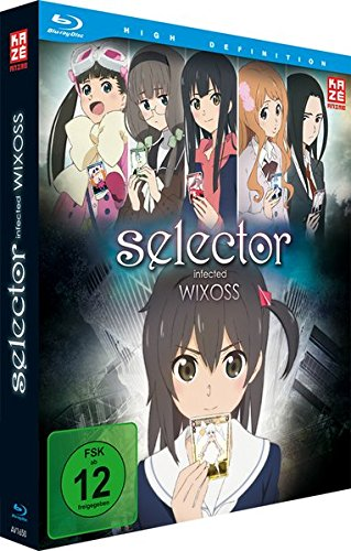 Selector Infected Wixoss - Blu-ray Vol. 1 + Sammelschuber 1 Selector