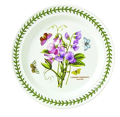 Portmeirion Botanic Garden Dinner Plates, Set of 6 Assorted Motifs by Portmeirion
