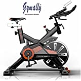 [Sponsored]Gymally Spin Bike RU-709 Exercise Fitness Spin Bike(Red); Exercise Cycle For Home Gym; 20kg Flywheel; Indoor Cycle; Trainer Fitness; Spin Bike (Imported)