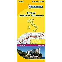 Michelin Friaul-Julisch Venetien (MICHELIN Localkarten)