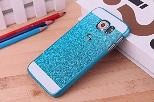 KSHOP Case Cover Stampa Custodia Protettiva per iphone SE /iphone 5 /iphone 5SShell Carcasa Trasparente Ultra Flessibile Colorato Ammortizzante Shock-Absorption Conchiglia - Bianco Blu blu