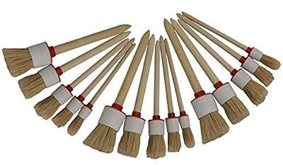 15 x Ringpinsel, Rundpinsel, Malerpinsel, Reinigungspinsel, Lackpinsel von Preisjubel bei TapetenShop