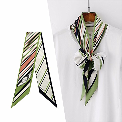 Double-face rectangulaires décoratifs foulard/écharpes unisexe W16cm * L180cm,Q H