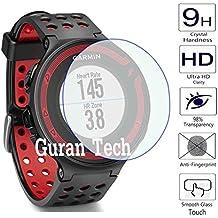 Guran® Protector de Pantalla Vidrio Cristal Templado Para Garmin Forerunner 220 Running Smartwatch Film