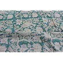 HANDICRAFTOFPINKCITY - Tela de Damasco para Correr, 100% algodón, Varios Colores, útil