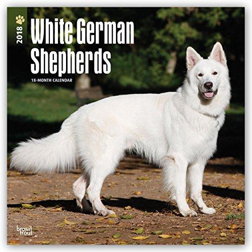 Descargar Libro White German Shepherds - Weiße Schäferhunde 2018 - 18-Monatskalender: Original BrownTrout-Kalender -  mit freier DogDays-App de Browntrout Publishers