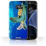 Coque de Stuff4 / Coque pour Samsung Galaxy S7 Edge/G935 / Tortue Design / Animaux sauvages Collection