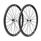 VCYCLE HALO 40mm Fibre de Carbone Route Vélo Roues 700C en Vélo Roue 25mm Largeur Clincher Shimano ou Sram 8/9/10/11 Vitesse