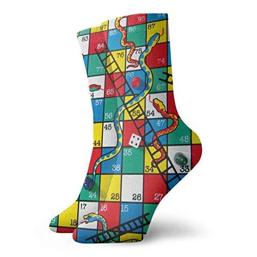 REordernow Sportliche Herrensocken Crew Socks Snow Tree Hot Mens Short Boot Stocking Gift Sock Clearance For Youth (Elite Basketball Socks Youth)