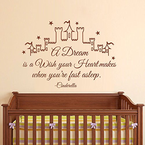 cinderella-wall-decal-quote-a-dream-is-a-wish-your-heart-makes-girl-wall-decals-nursery-wall-decal-k