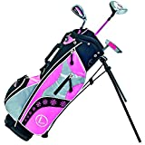 Longridge Ensemble Junior Challenger Cadet Golf Rose/Noir/Argent