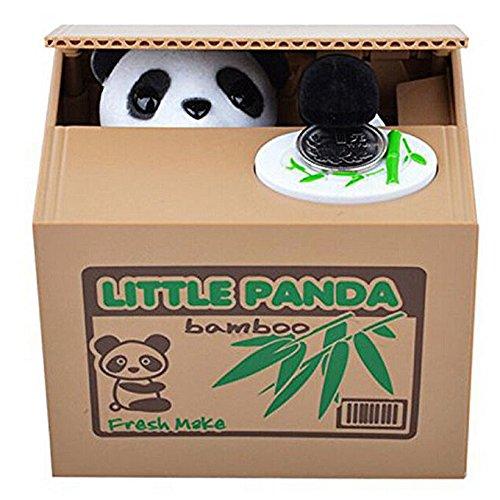 Hucha Coin Box---Los animales monos roban su dineroPANDA