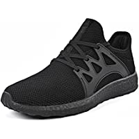 QANSI Men Trainers  Sneakers Lace up Casual Running Walking Shoes Athletic Sports Shoes For Junior  Y79JXIUXH