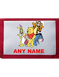 Personalised Winnie The Pooh/Tigger/Rabbit/Piglet Eeyore Style Wallet/Purse *Pink/Blue/Black/Red* By Mayzie Designs®