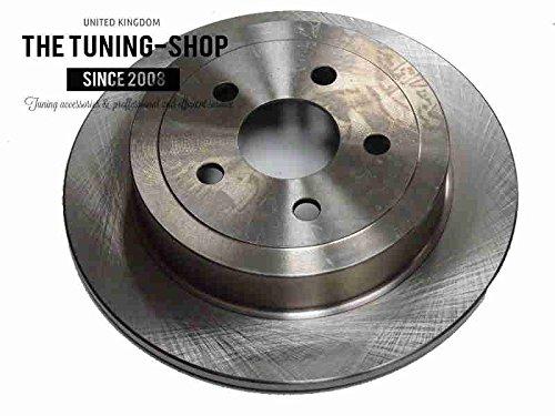 Non ventilato-Rotore freno a disco, 320 mm diametro per Chrysler Pt Cruiser 2001-2010