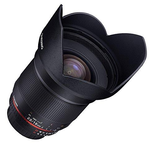 Samyang 16mm F2.0 Objektiv für Anschluss Samsung NX - 5
