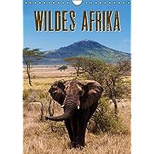 Wildes Afrika (Wandkalender 2019 DIN A4 hoch): Eine bezaubernde Reise durch Afrika. Vom Lake Manyara über die Serengeti bis nach Sansibar (Monatskalender, 14 Seiten ) (CALVENDO Tiere)