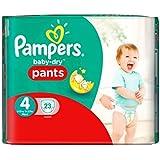 Taille 4 De Portage De Bébé-Secs Pantalons De Pampers 23 Couches