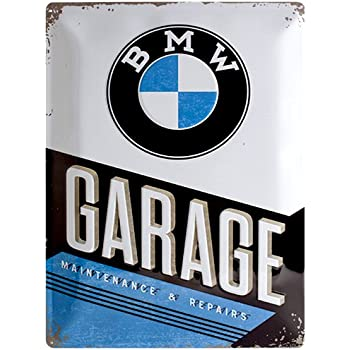 BMW Parking Only Small Metal Sign Mm X Mm Na Amazoncouk - Bmw parking only signs