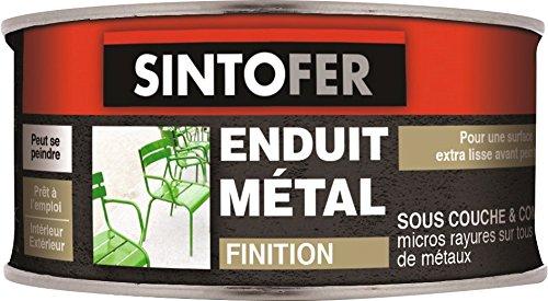 Enduit métal de finition Sintofer - Boîte 170 ml