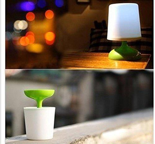 MEIWEI LED solare in vaso luce occhio protezione lampada da tavolo