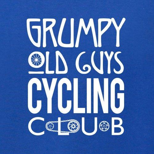 Grumpy Guys Cycling Club - Herren T-Shirt - 13 Farben Royalblau