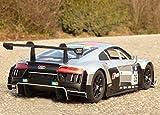 RC Modell AUDI R8 V10 LMS RACING mit LICHT Länge 32cm Ferngesteuert 27MHz