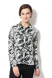 Allen Solly Women Regular Fit Shirt_AWTS515C06733_M_Black