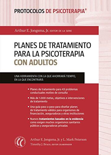 Planes de tratamiento para la psicoterapia con adultos (Protocolos de Psicoterapia nº 1)