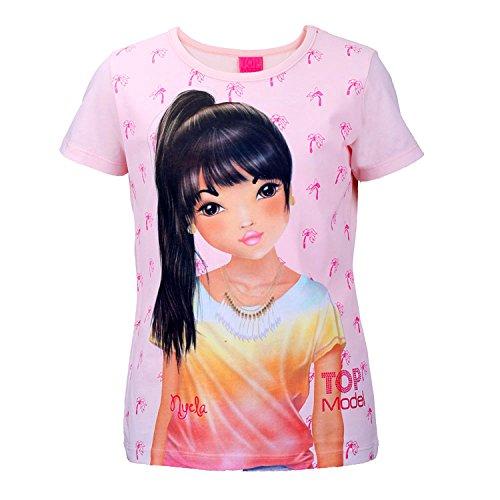 TOP MODEL Mädchen Shirt, rosa, Größe 128, 8 Jahre