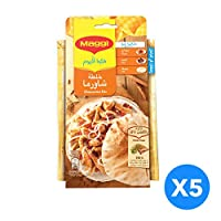 MAGGI Shawarma Mix Outer Pack of 5 Pieces, 40g