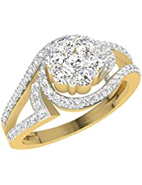 TBZ - The Original 18k Yellow Gold and Diamond Ring
