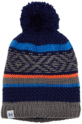 Buff Kinder Knitted & Polar Hat Mütze, Tipsy Blue Ink, One Size -