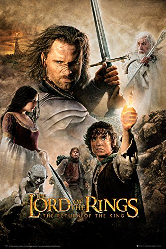 GB eye LTD, Il Signore degli Anelli, Return Of The King One Sheet, Maxi Poster, 61 x 91,5 cm