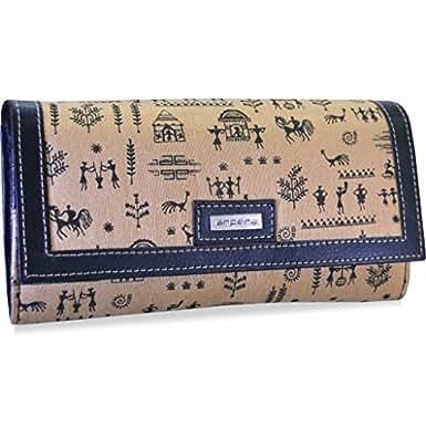 arpera Rangoli Women's Wallet (Blue)
