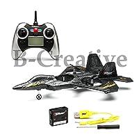 B-Creative Top Race F22 Fighter Jet 4 Channel Rc Remote Control Quad Copter RTF