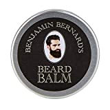 Benjamin Bernard Luxury Beard Balm For Men, balsamo barba Balsamo, pomata da barba – 100g Profumato.