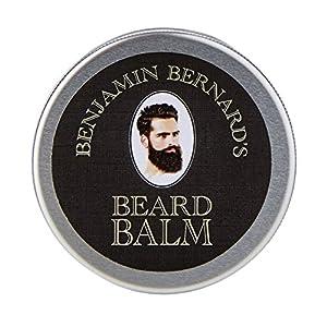 Bartbalsam für Männer zur Bartpflege – Bartpomade – Beard Balm von Benjamin Bernard – Fördert gesundes Bartwachstum – mit Bartwachs den Bart dauerhaft formen – 100 ml