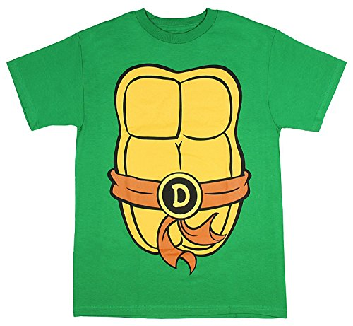 Teenage Mutant Ninja Turtles T-Shirt für Erwachsene - Grün - 3X-Groß