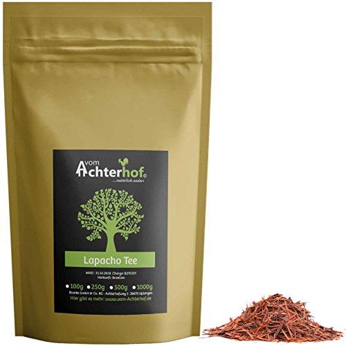 500 g Lapacho Tee Rinden Tee aus der inneren Rinde - Baumrindentee - schadstoffkontrollierte Spitzenqualität aus Brasilien (Rinde Frei)
